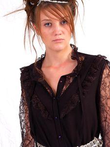 Free Beautiful Brunette Teen Stock Photo - 3107380