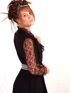 Free Beautiful Brunette Teen Stock Photo - 3107410
