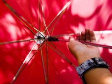 Free Turning Umbrella Stock Photography - 3108442