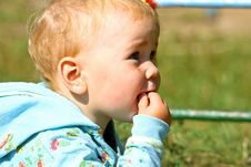 Free Scared Baby Royalty Free Stock Photos - 3108838