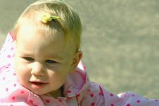 Free Baby With A Hair-pin Stock Photography - 3108842