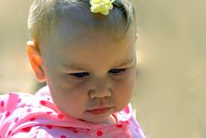 Free Thoughtful Baby Royalty Free Stock Photos - 3108878