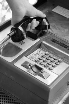 Free Public Telephone Royalty Free Stock Photos - 3109508