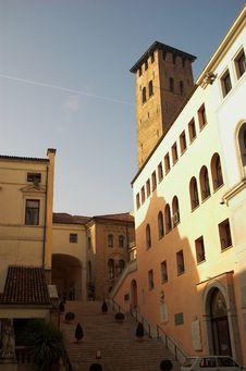 A Street Of Padova Royalty Free Stock Photos