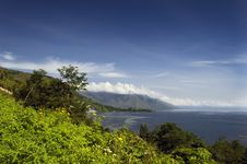 Free View Of Lake Toba Royalty Free Stock Photography - 31002687