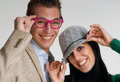 Free Funny Couple. Royalty Free Stock Photography - 31010457