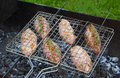 Free Kebab On The Grill Grid Royalty Free Stock Image - 31012386
