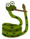 Free Musical Snake Royalty Free Stock Image - 31018086