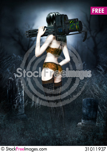 Free Fantastic She Warrior Royalty Free Stock Photography - 31011937