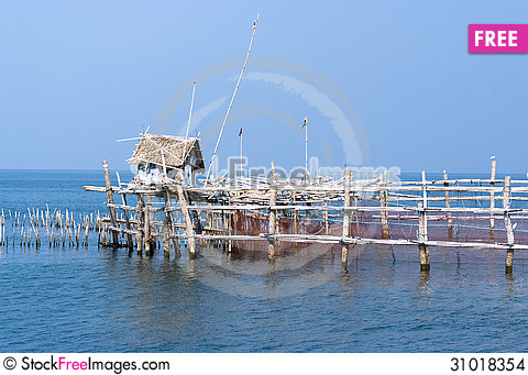 Free Fishing Trap / Fishing Equipment Stock Images - 31018354