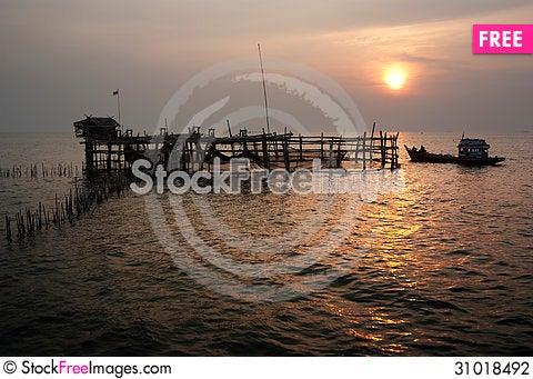 Free Fishing Trap / Fishing Equipment Stock Photography - 31018492