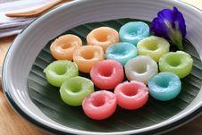 Free Thai Dessert, Namdokmai Royalty Free Stock Photography - 31012237