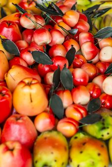 Free Marzipan Fruits Royalty Free Stock Photo - 31014285