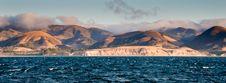 Santa Cruz Ocean Landscape Stock Photography