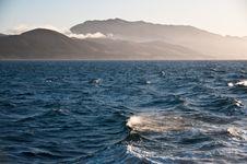 Free Ocean Misty Mountains Of Santa Cruz Island Royalty Free Stock Photo - 31017445