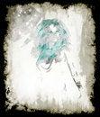 Free Fashion Watercolor Girl Stock Image - 31021531
