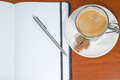 Free Notebook And Cup Of Coffee Royalty Free Stock Photography - 31024417