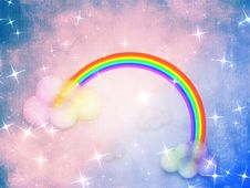 Free Colorful Grunge Rainbow Background Stock Photos - 31021493