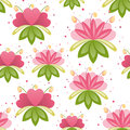 Free Floral Seamless Pattern Stock Photo - 31030580