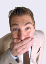 Free Funny Man. Royalty Free Stock Photos - 31031608