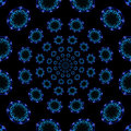 Free Blue Kaleidoscope Royalty Free Stock Photo - 31039225