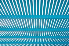 Free Perspective Of Blue Lath Royalty Free Stock Images - 31031179
