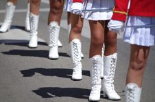 Free Majorettes Stock Photography - 31036722
