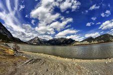 Free Lac Des Arcs Alberta Stock Photo - 31037870