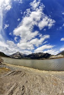 Free Lac Des Arcs Alberta Stock Images - 31037874