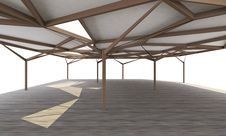 Free Organic Structure, Open Space Architecture Stock Photos - 31038133