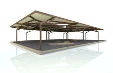 Free Organic Structure Pavillion Stock Photo - 31038160