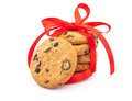Free Stack Of Cookies & Ribbon Stock Photos - 31040843