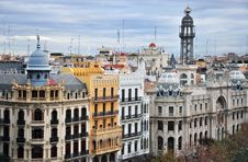 Free Panorama De Valencia Stock Photos - 31042343