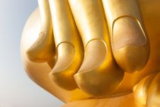 Free Hand Of Buddha Stock Photos - 31042953