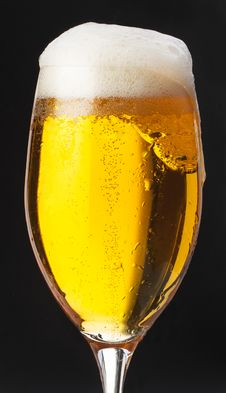 Free Beer On Black Background Stock Photos - 31043163