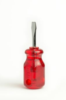 Free Red Screwdriver Stock Image - 31044961