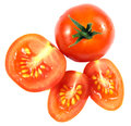 Free Red Tomato And Slices Stock Images - 31056014