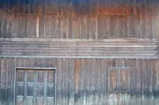 Free Wooden Wall Of Thai House Stock Photography - 31053972