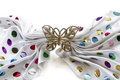 Free Golden Butterfly Barrette Royalty Free Stock Photography - 31066817