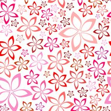 Free Tender Floral Pink Seamless Pattern Stock Photo - 31061780