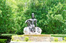 Free Bodhisattva Statue. Stock Image - 31063861