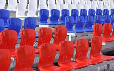 Free The Chairs At The Stadium. Royalty Free Stock Photo - 31066585