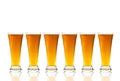 Free Glasses Of Beer On White Background Stock Image - 31074091