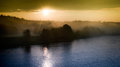 Free Dawn And River Stock Photo - 31074560