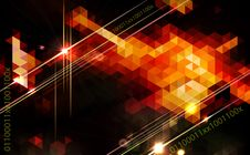 Free Abstract Geometric Background Design. Royalty Free Stock Photography - 31073097