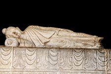 Free Sleeping Buddha Royalty Free Stock Photo - 31073365