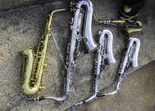 Free Saxophone Royalty Free Stock Image - 31076906