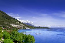 View Of The Lake Toba. Stock Photos