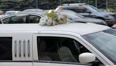 Free Wedding Limousine Royalty Free Stock Photos - 31078538