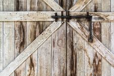 Free Locked Old Door Stock Images - 31080624